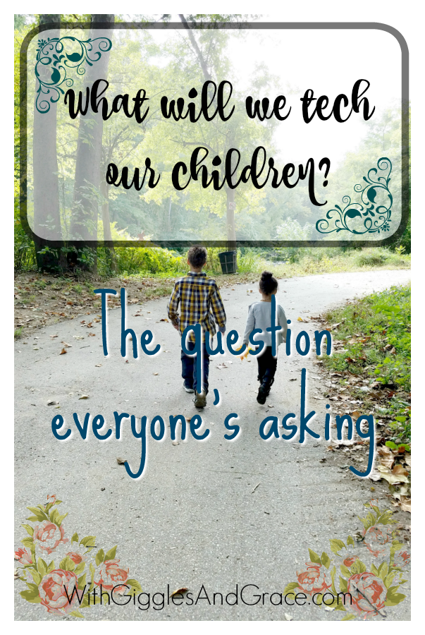 What will we teach our Children! The Question everyone's asking
